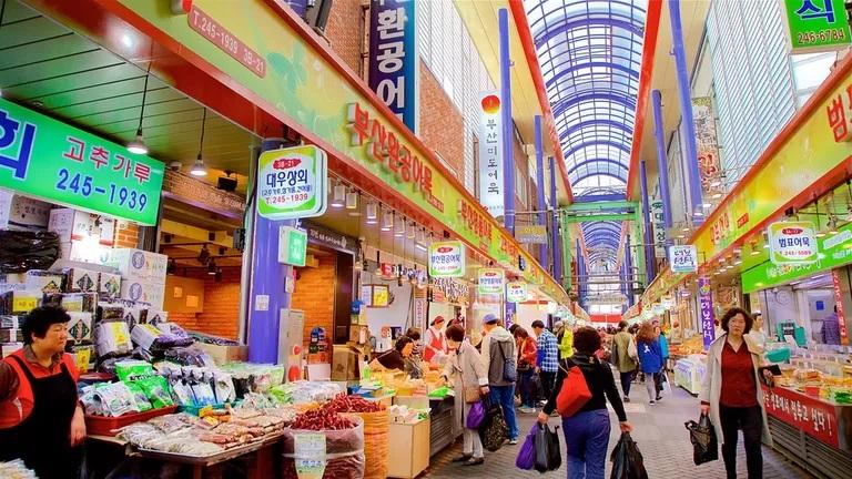 Chợ Gukje bán đồ cũ