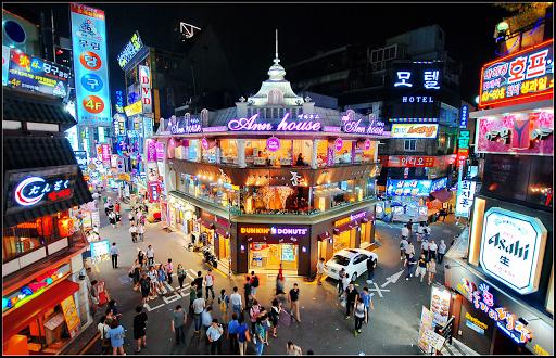 đêm ở Hongdae