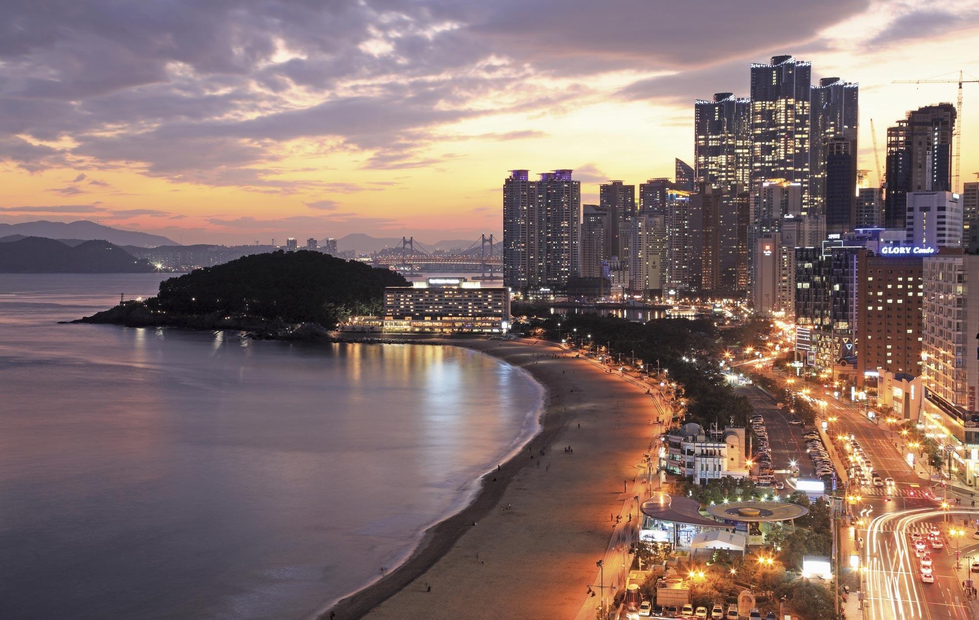 Bãi biển Busan - Du lịch Busan