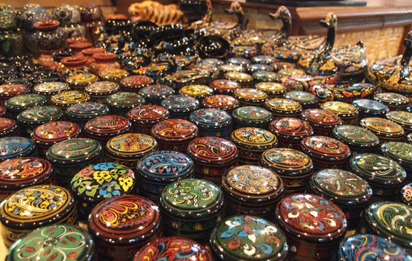 đồ thủ công mỹ nghệ ở Bagan