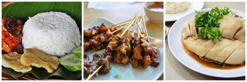 thực tập ở Singapore ẩm thực đa dạng