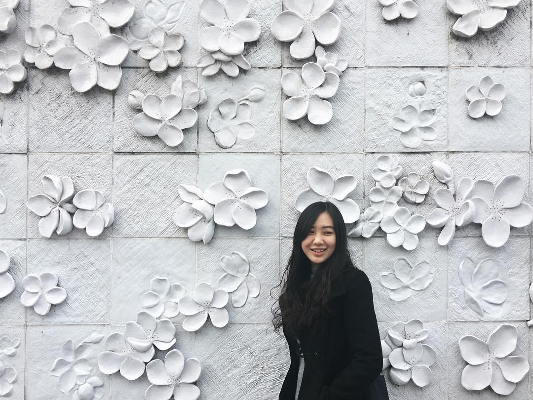 Cổng chính của Đại học nữ sinh Ehwa 이화 여자 대학교