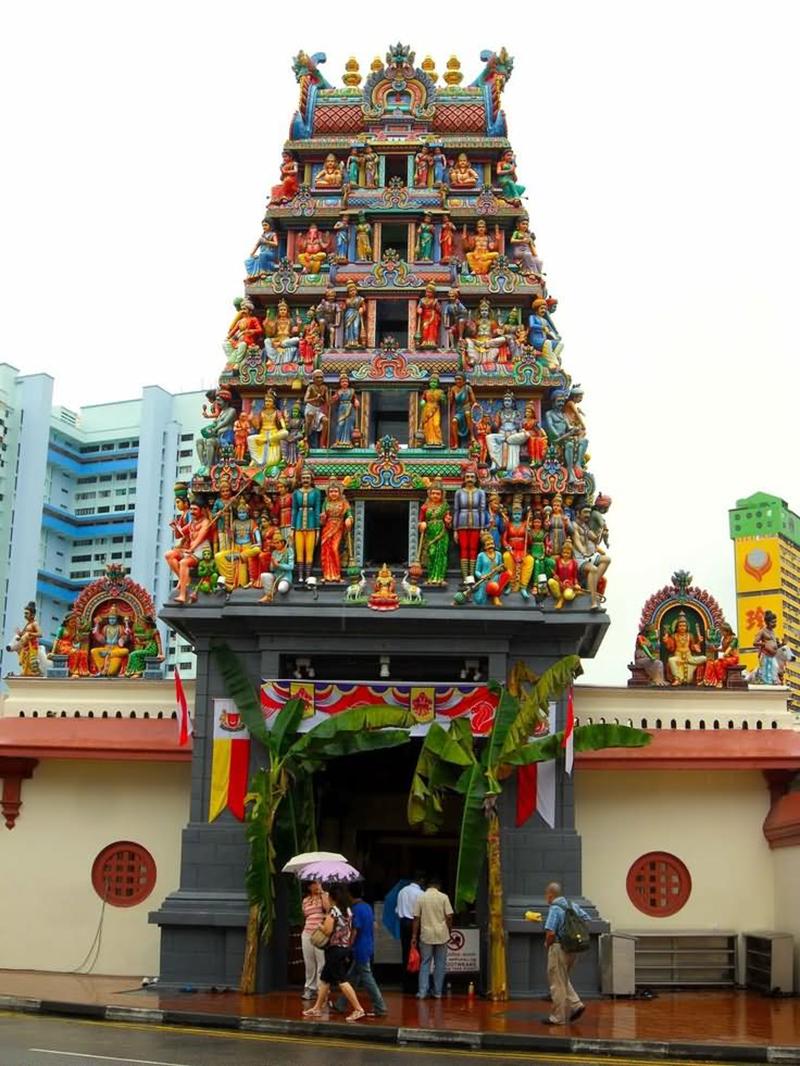Địa điểm tham quan du lịch ở Singapore: Đền Hindu