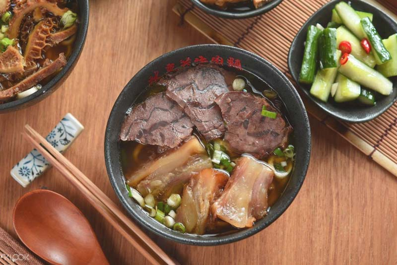Mì thịt bò tại nhà hàng Lin Dong Fang