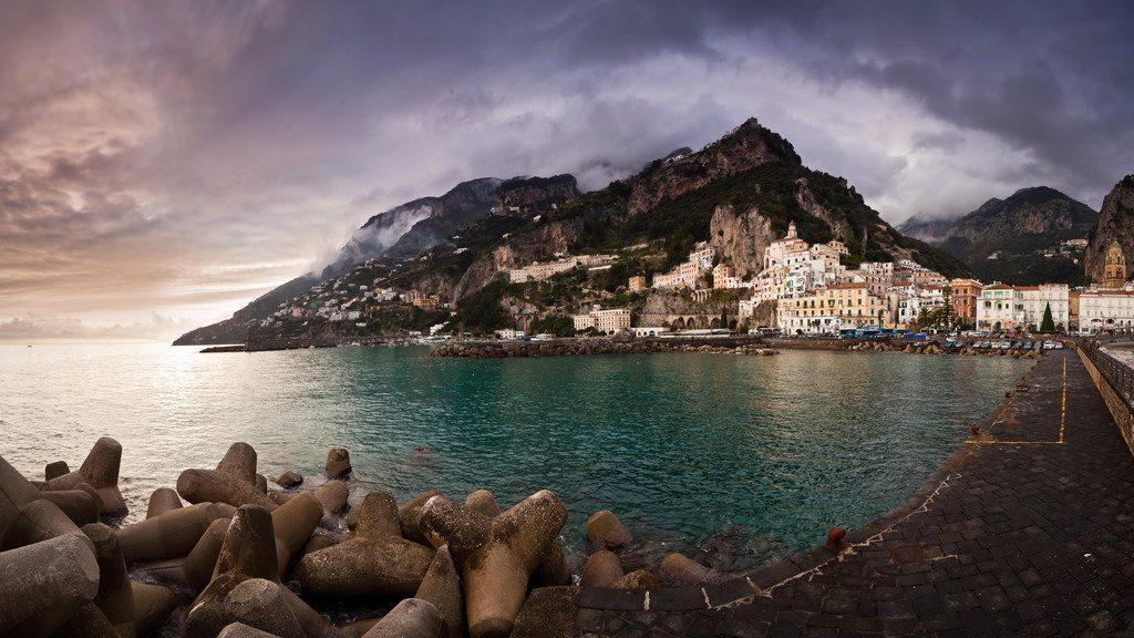 địa điểm du lịch Ý - Biển Amalfi