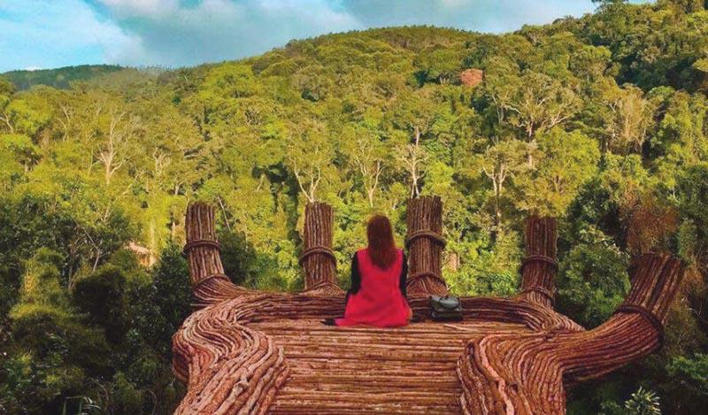 Hoa Đơn Điền Trang là địa điểm Check in nổi tiếng Đà Lạt