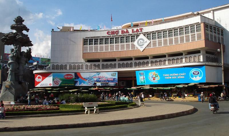 Chợ Đà Lạt là trung tâm thương mại lớn nhất