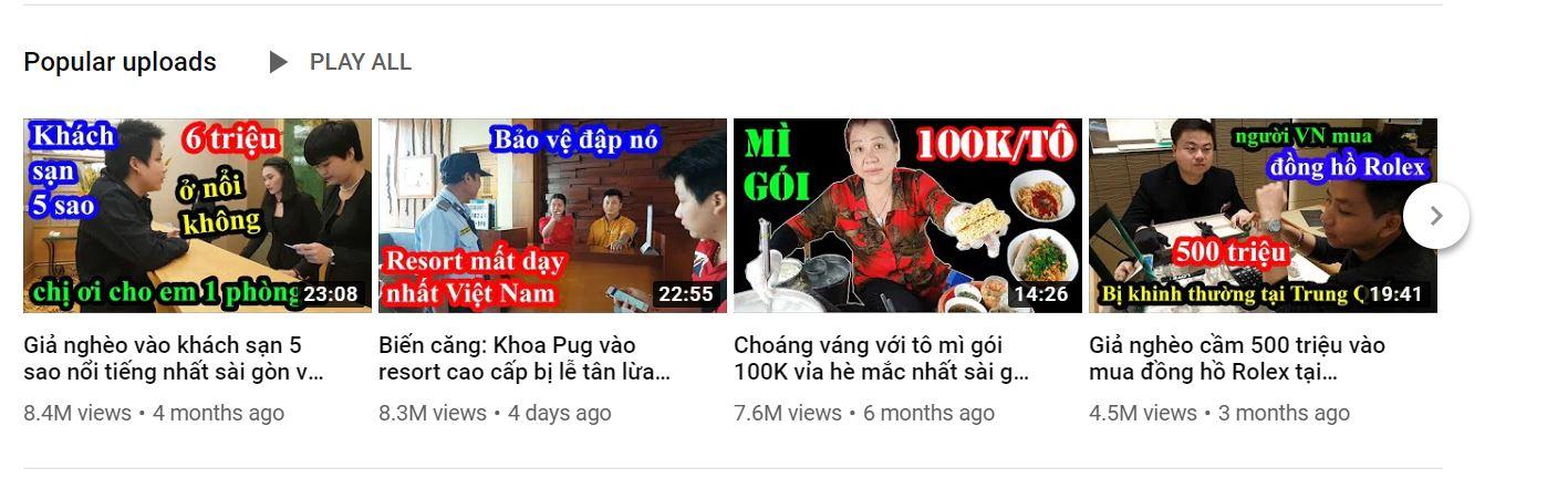 Khoa Pug và kênh Youtube