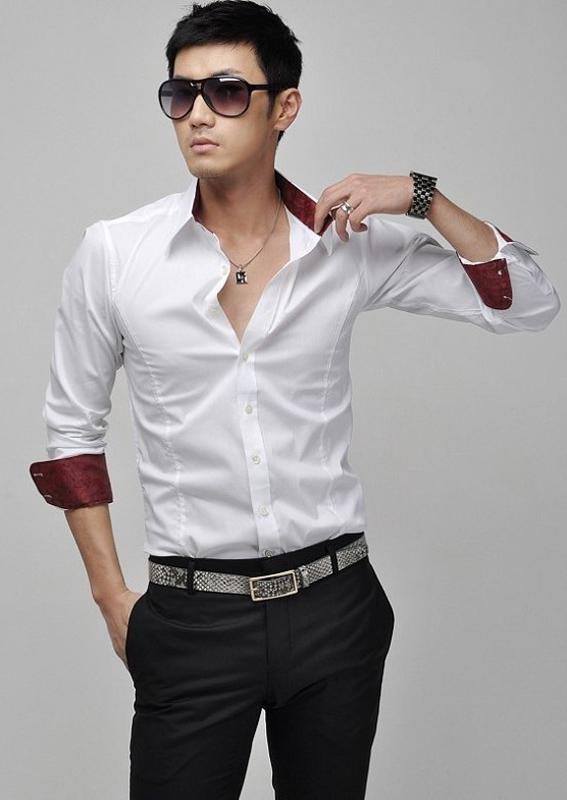 Khi đi chơi trai Hàn Quốc rất chỉnh chu trong cách ăn mặc
