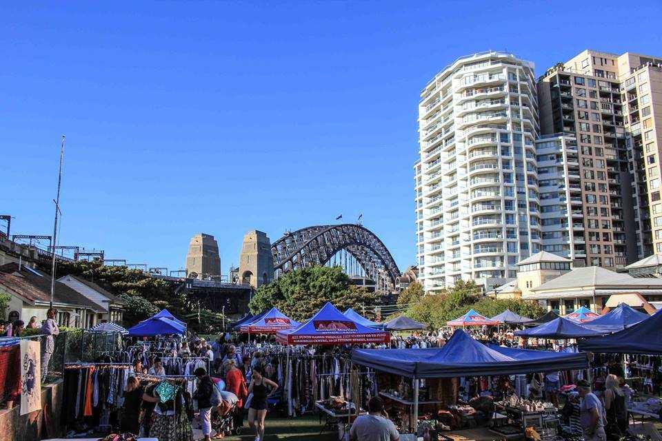 Lich trinh du lich Sydney: Chợ Kirribilli