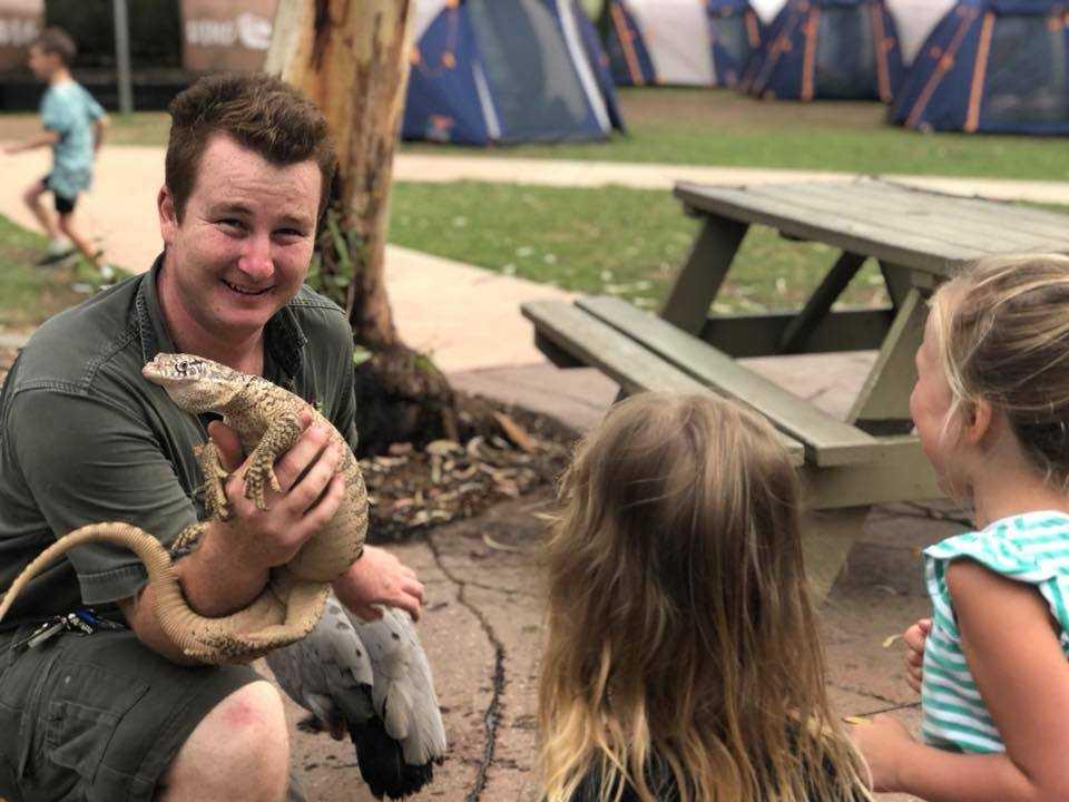 Lich trinh du lich Sydney: Công viên bò sát Úc