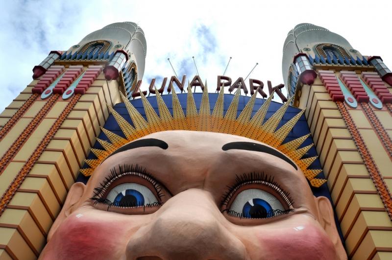 Lich trinh du lich Sydney: Công viên giải trí Luna