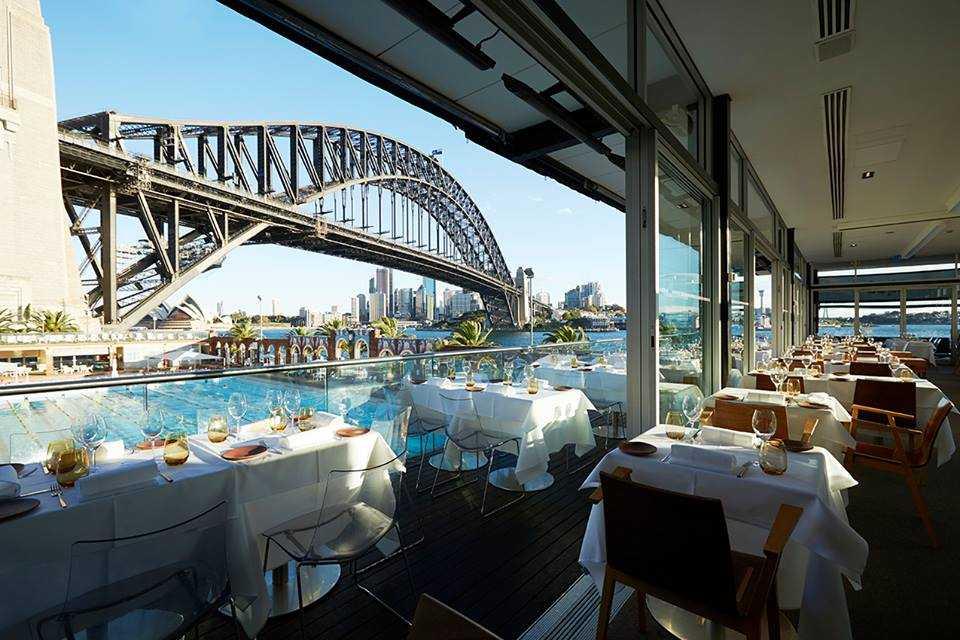 Lich trinh du lich Sydney: Nhà hàng Aqua Dining