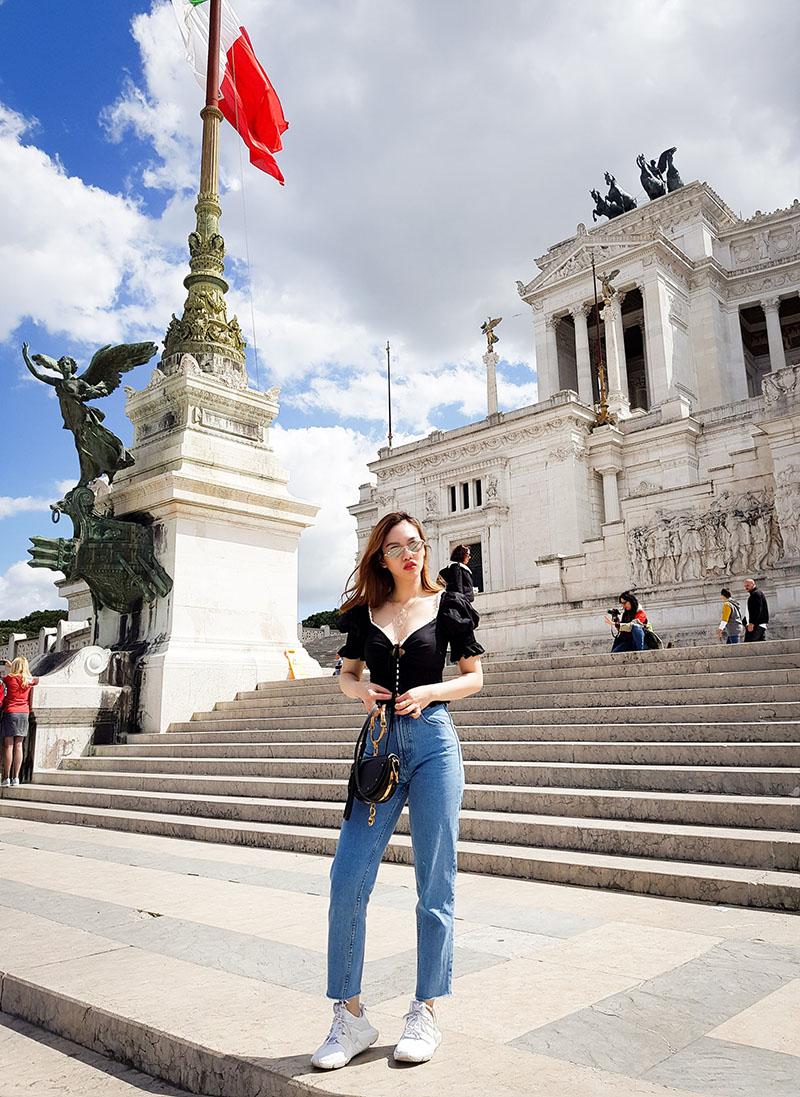 du lịch Rome tự túc