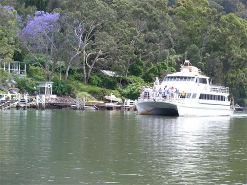 Lich trinh du lich Sydney: Tàu đưa thư Riverboat Postman