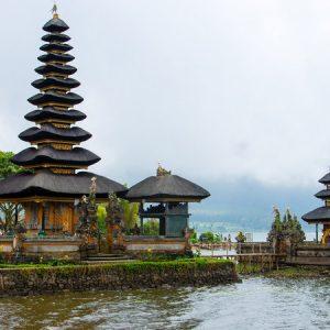 địa điểm du lịch Bali - Đền Ulun Danu