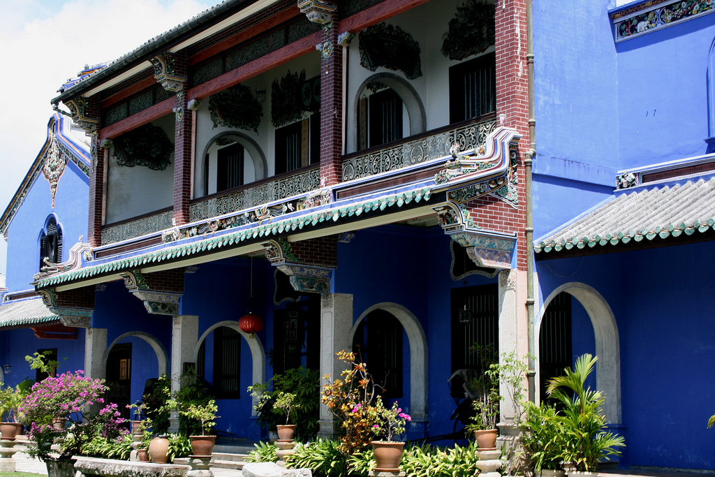 địa điểm du lịch Penang - Biệt thự Cheong Fatt Tze