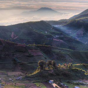 địa điểm du lịch Indonesia - Cao nguyên Dieng