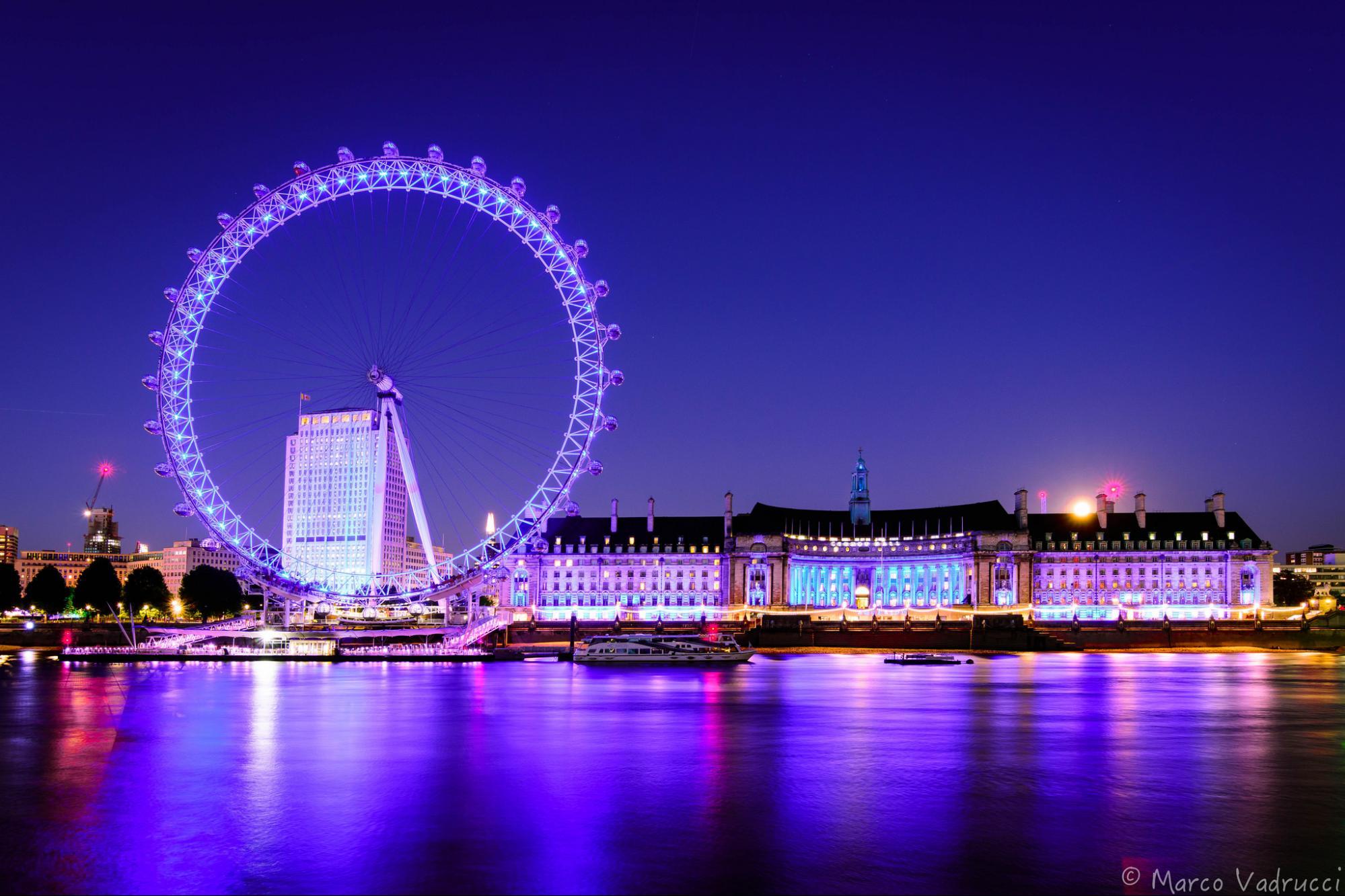Vong xoay London Eye, Anh - Địa điểm tham quan du lịch ở Châu Âu
