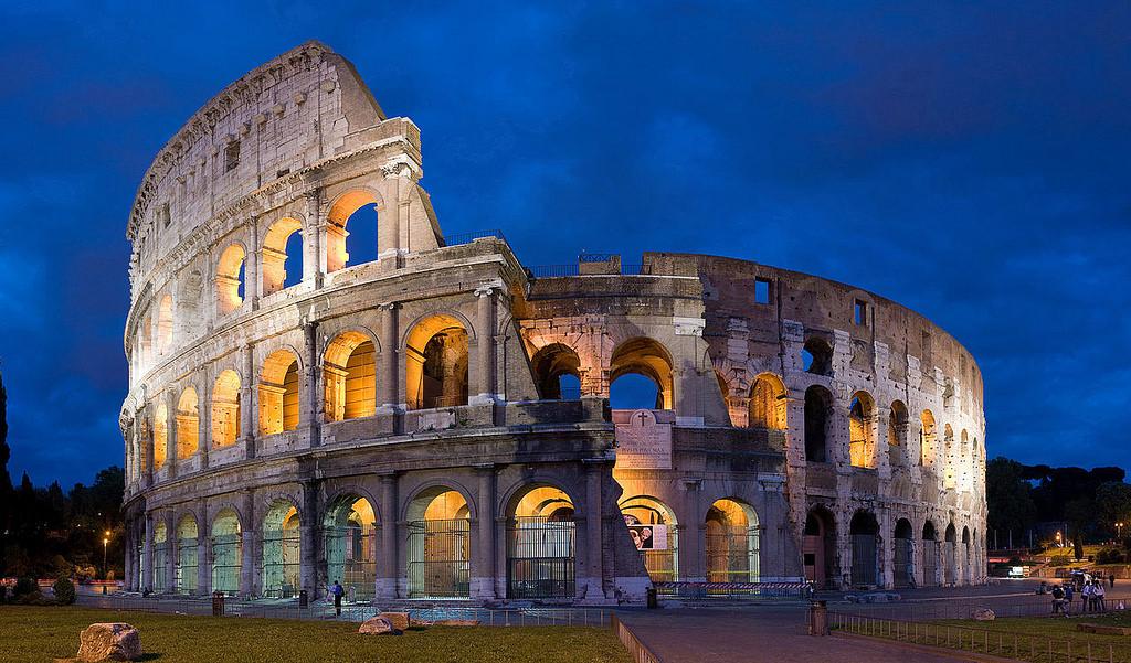 Dau truong Colosseum, Y