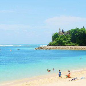 địa điểm du lịch Indonesia- Bãi biển Nusa Dua