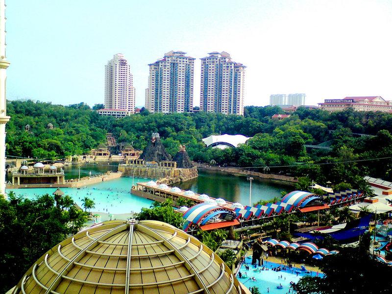 địa điểm du lịch Kuala Lumpur - Công viên giải trí Sunway Lagoon