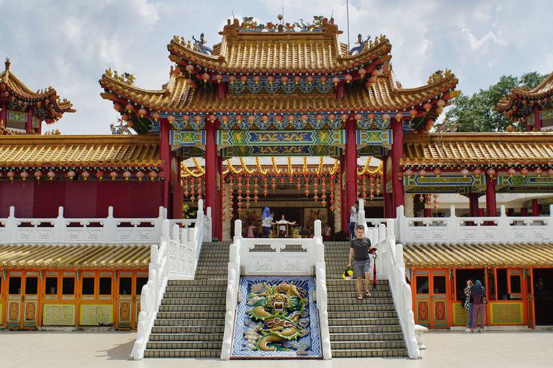 địa điểm du lịch Kuala Lumpur - Chùa Thiên Hậu