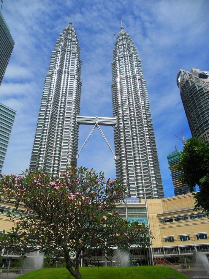 địa điểm du lịch Kuala Lumpur - Tháp đôi Petronas