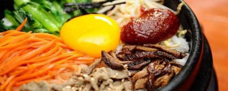 Đặc sản châu á - Cơm trộn Hàn Quốc