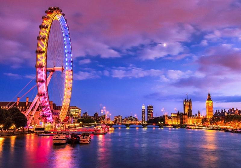 Chụp hình cưới ở nước ngoài London Eye