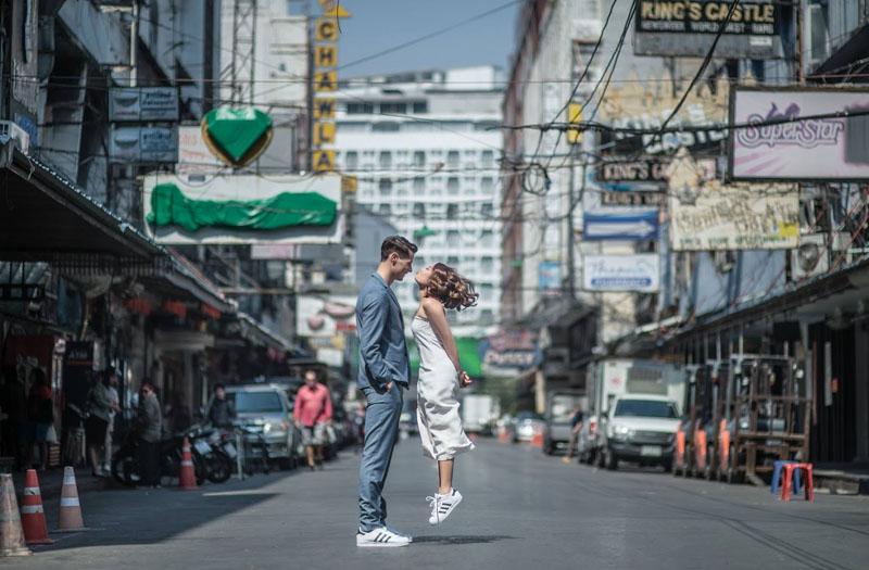 Thái Lan cũng rất lý tưởng để chụp ảnh cưới