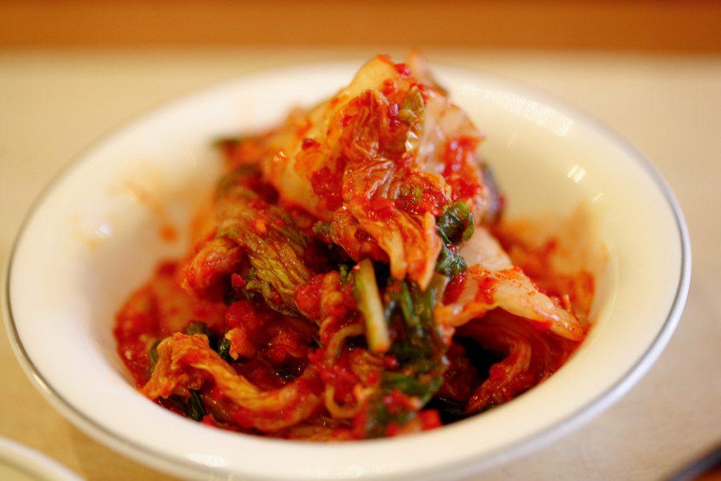 kim chi - món ăn truyền thống