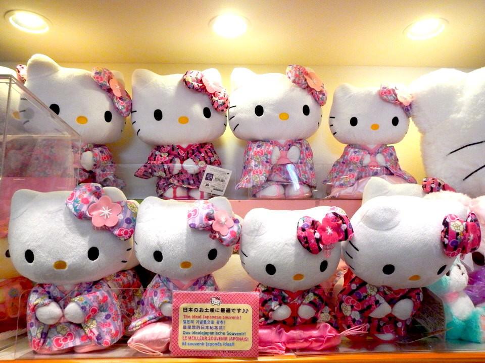 Búp bê Hello Kitty nổi tiếng