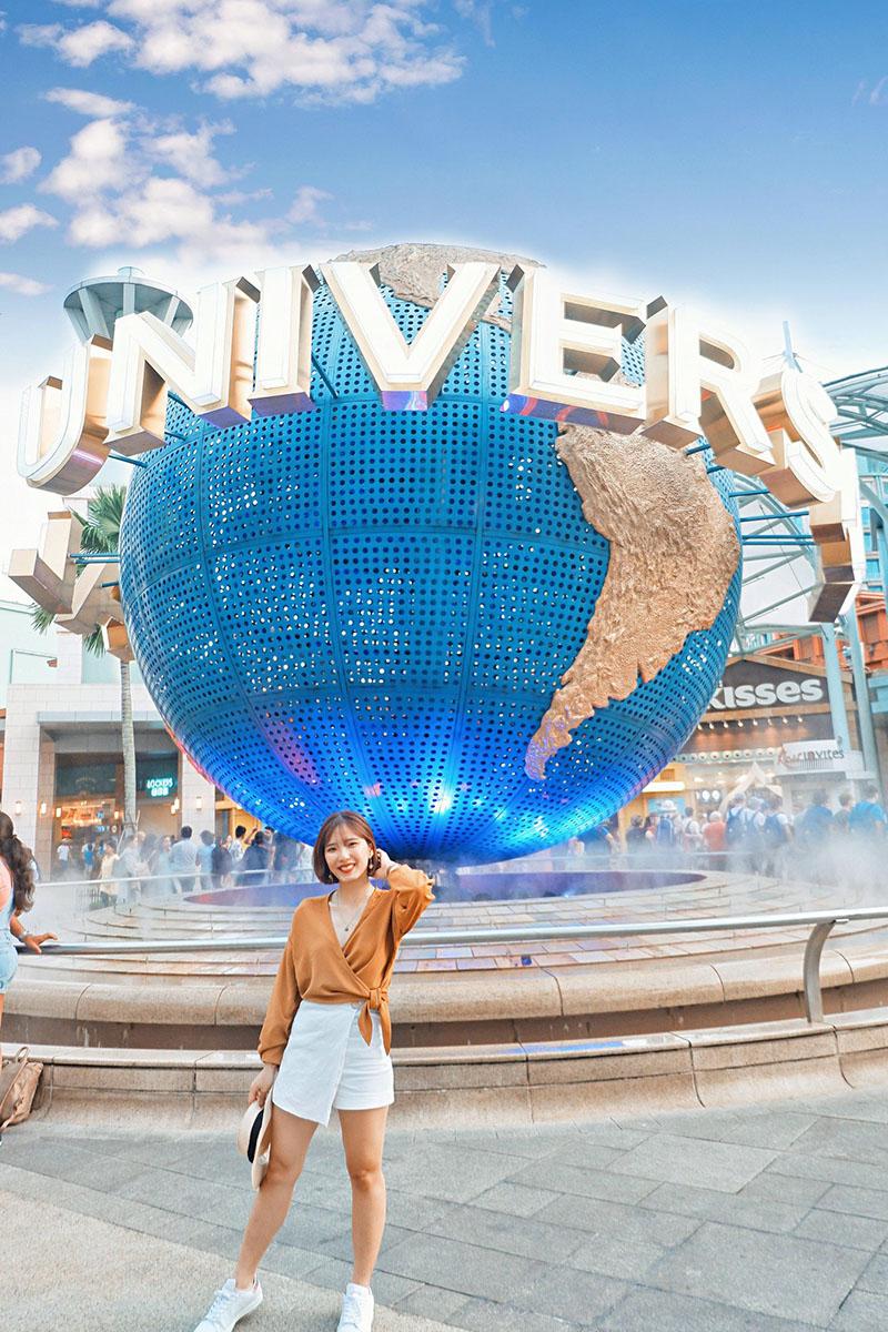 Du lịch tự túc Singapore - Malaysia - universal studio Singapore