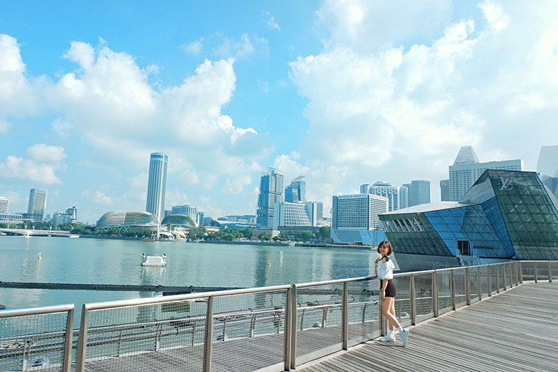 Du lịch tự túc Singapore - Malaysia - Marina bay sand