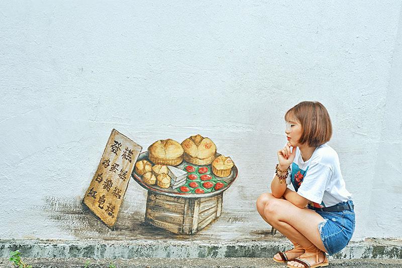 Du lịch tự túc Singapore - Malaysia - Tranh tường Tiong Bahru