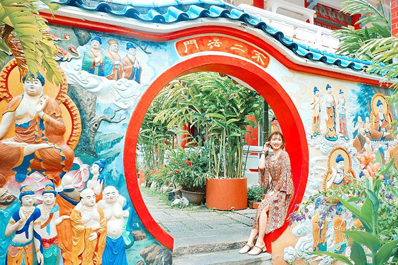 Du lịch tự túc Singapore - Malaysia - Kek Lok Si