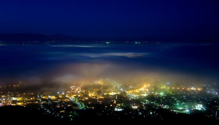 Ngắm nhìn toàn thành phố từ đỉnh núi Hakodate