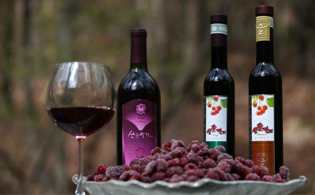 Rượu mâm xôi Busan
