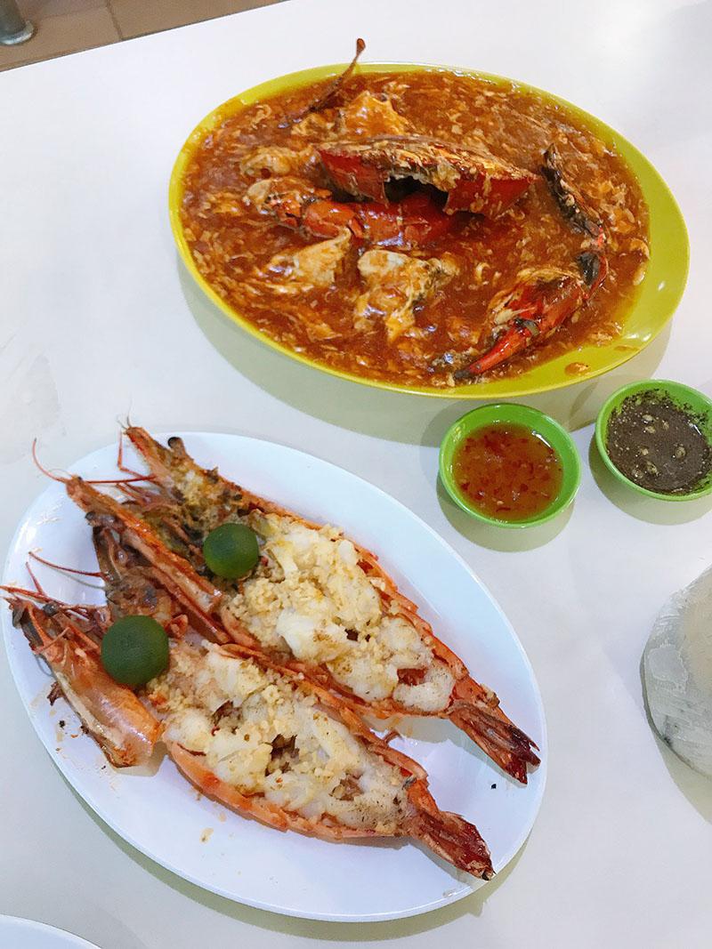 Du lịch tự túc Singapore - Malaysia - Newton Food Centre