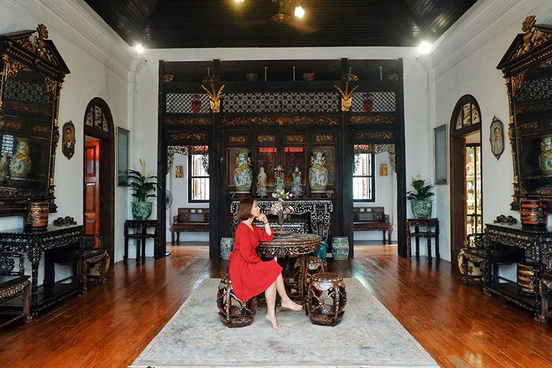 Biệt thự cổ Pinang Peranakan Maison