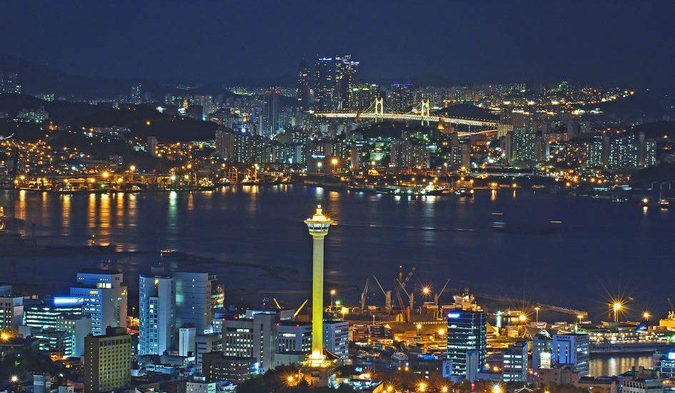 địa điểm tham quan ở Busan - Tháp Busan