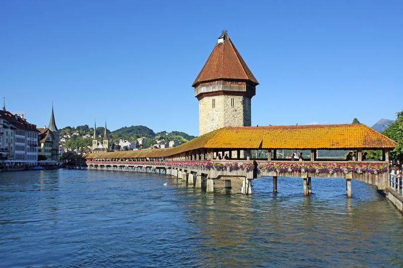 địa điểm du lịch Thụy Sĩ - Thành phố cổ Lucerne