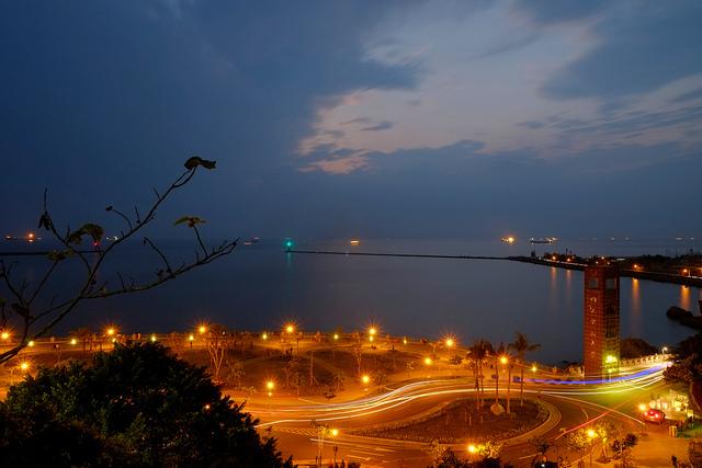 địa điểm chụp hình ở Cao Hùng - vịnh Tây Tự