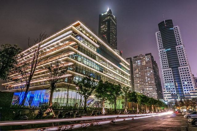 địa điểm chụp hình ở Cao Hùng - Thư viện Cao Hùng