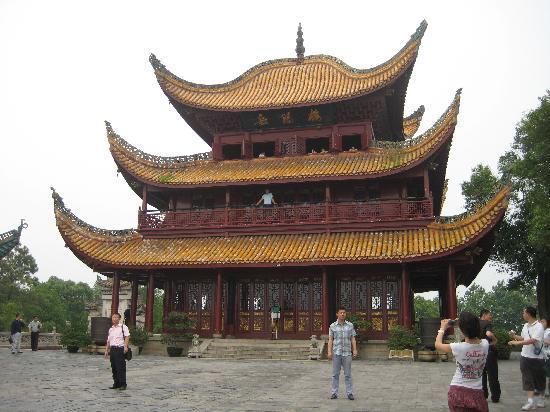 Chơi gì ở Hồ Nam tháp Yueyang