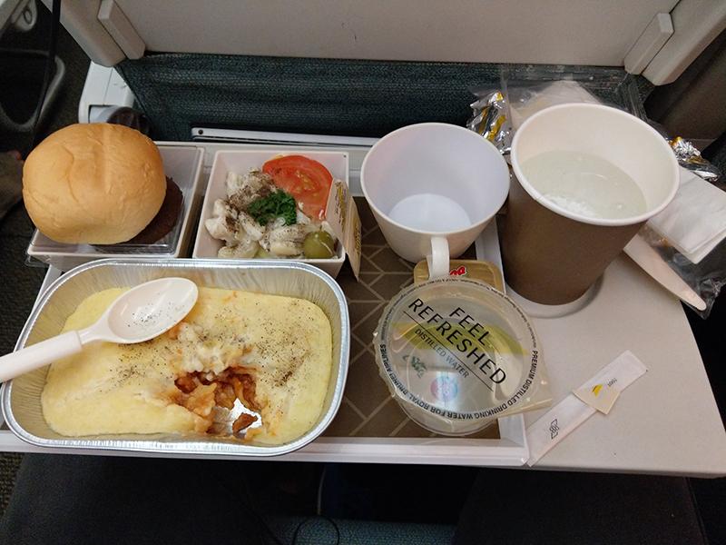 Bữa ăn trên máy bay Vietnamairline