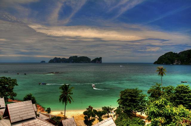 địa điểm du lịch Thái Lan - Đảo Phi Phi