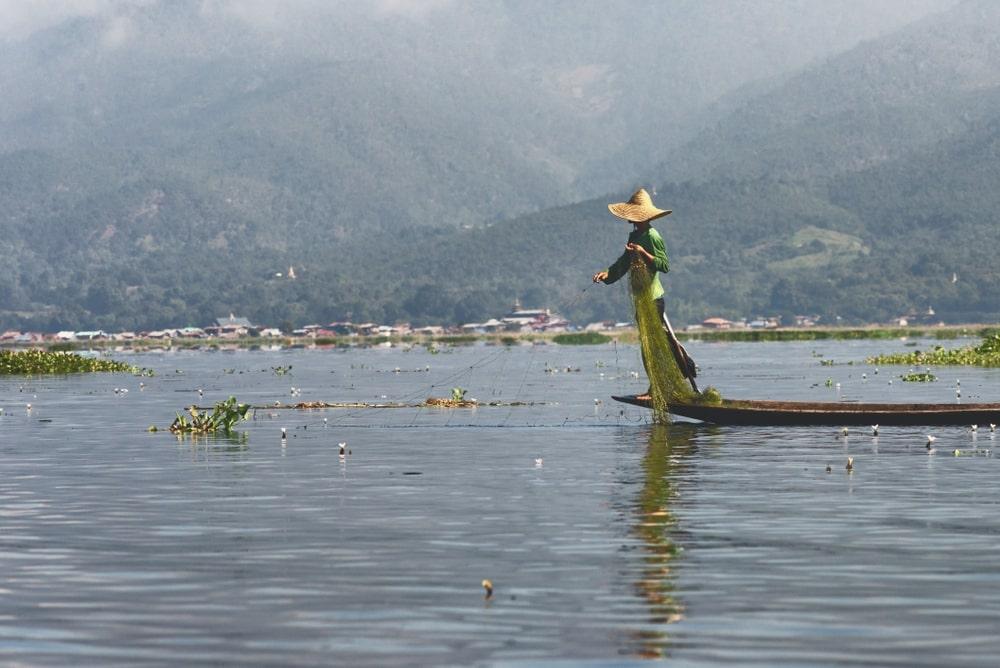Hồ Inle Myanmar