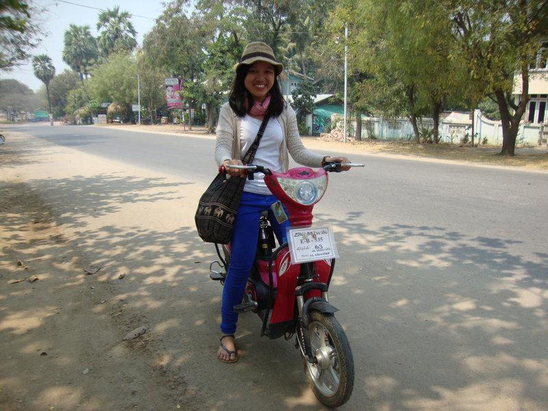Xe đạp điện E-Bike Myanmar